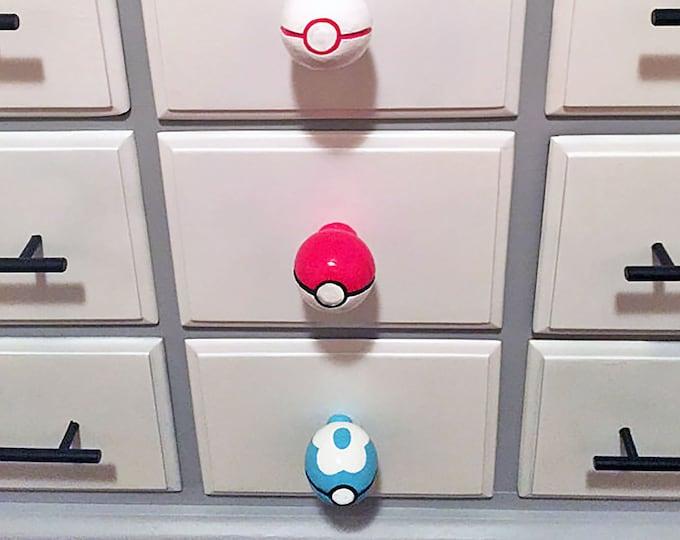 Pokeball Drawer Pulls *different styles*   Pokemon