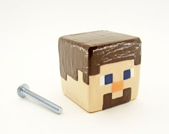 Steve Cabinet Pull | Minecraft