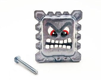 Thwomp Drawer Pulls | Super Mario Bros