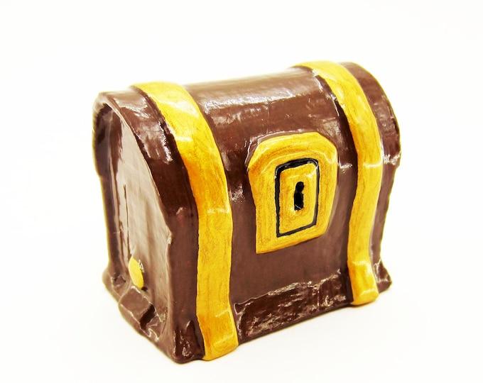 Treasure Chest Drawer Pull / Cabinet Knob - Video Game Decor