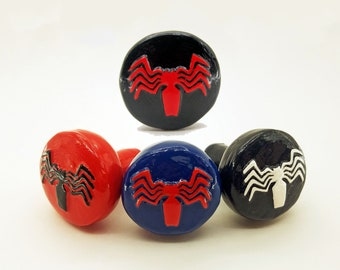 Spiderman Spider-Icon (spider-verse variants) Drawer Pulls | Marvel Comics