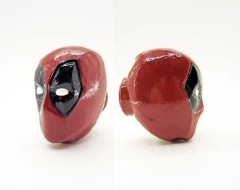 Deadpool Mask Drawer Pulls   Marvel Comics
