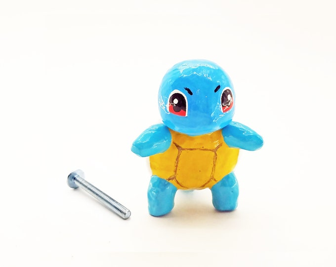 Squirtle Cabinet Knob (full body) | Pokemon