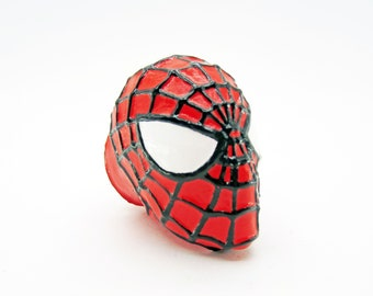 Spider-Man Furniture Pull Knob - Marvel Spiderman