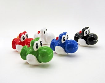 Yoshi Drawer Pulls *multiple colors available* | Super Mario Bros