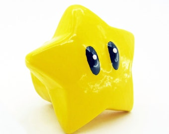 Mario Star Drawer Pulls | Super Mario Bros