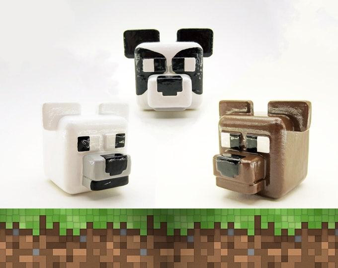 Bears Cabinet Pull | Minecraft