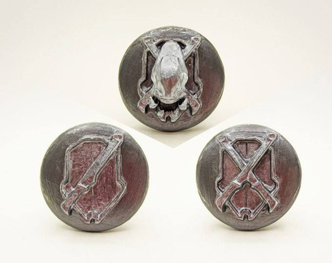 Halo Difficulty Drawer Knobs   Halo