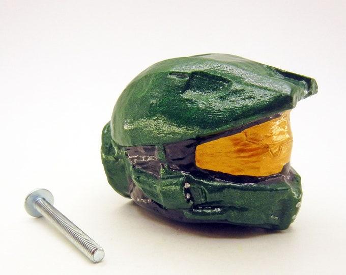 Master Chief Helmet Furniture Knobs   Halo
