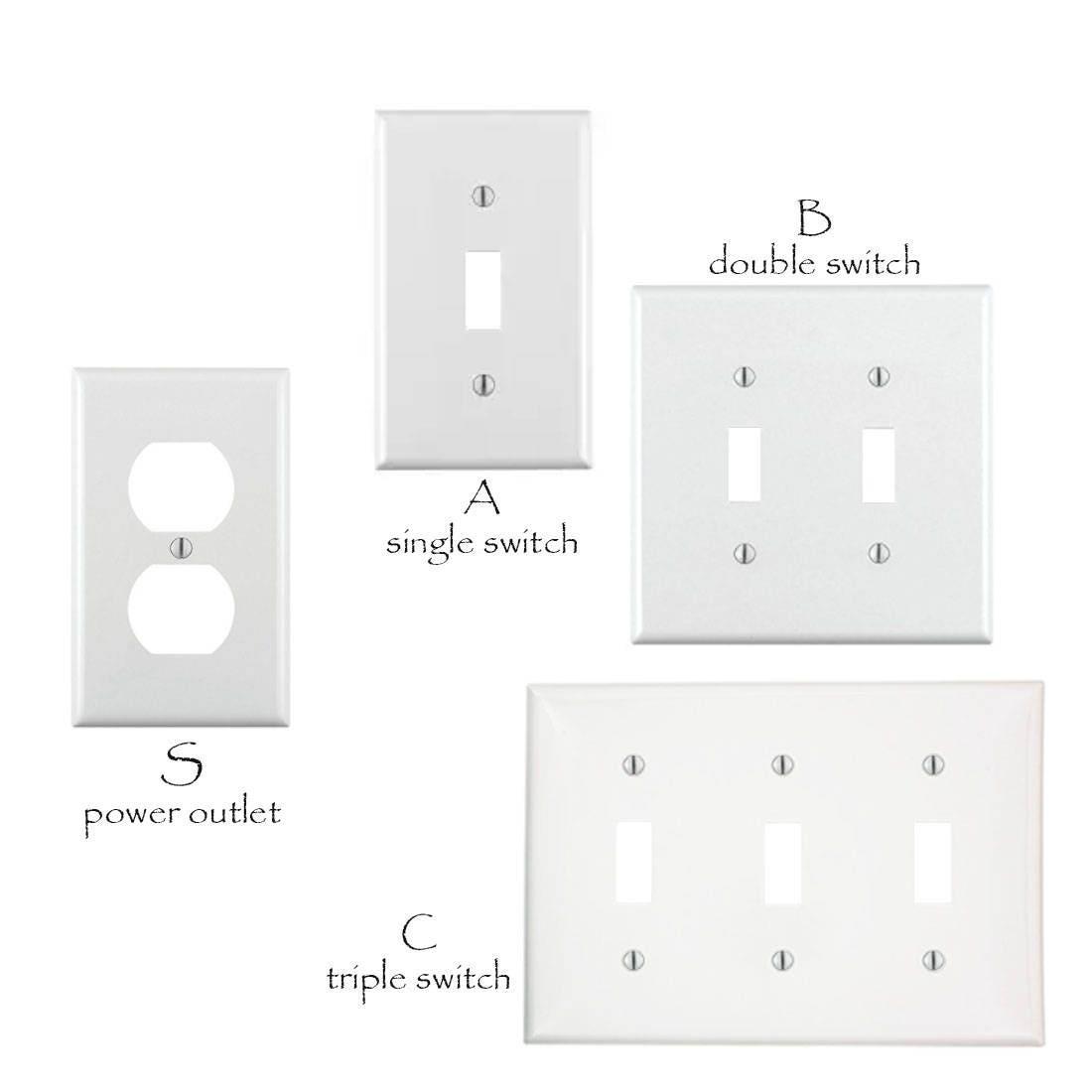 Spiderman Decorative Triple Rocker//Decora Light Switch Plate Cover
