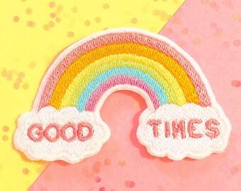 Good Times Pastel Rainbow Patch!