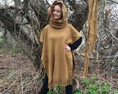 Winter Coat, Hooded Wool Cape Cloak Poncho, GOT Poncho, Knight Ponchos, Bohemian Ponchos, Festival Clothing, Unisex Poncho, Women Men Coat
