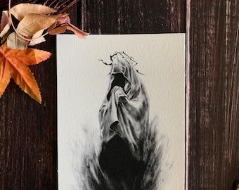 I. Presence- 8x10 Dark Art, Satanic, Witchcraft, Exorcist, Gothic Romance