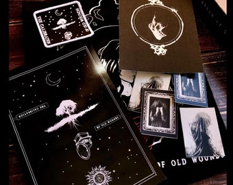 The Calibration of Old Wounds Deluxe Edition-Witchcraft Books, Satanic, Photograph Book, Dark Artwork, Grimoire,