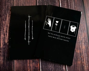 We've Always Been Here//This Was Never Yours- Witchcraft Book, Satanic, Spell Book, Book of Shadows, Grimoire