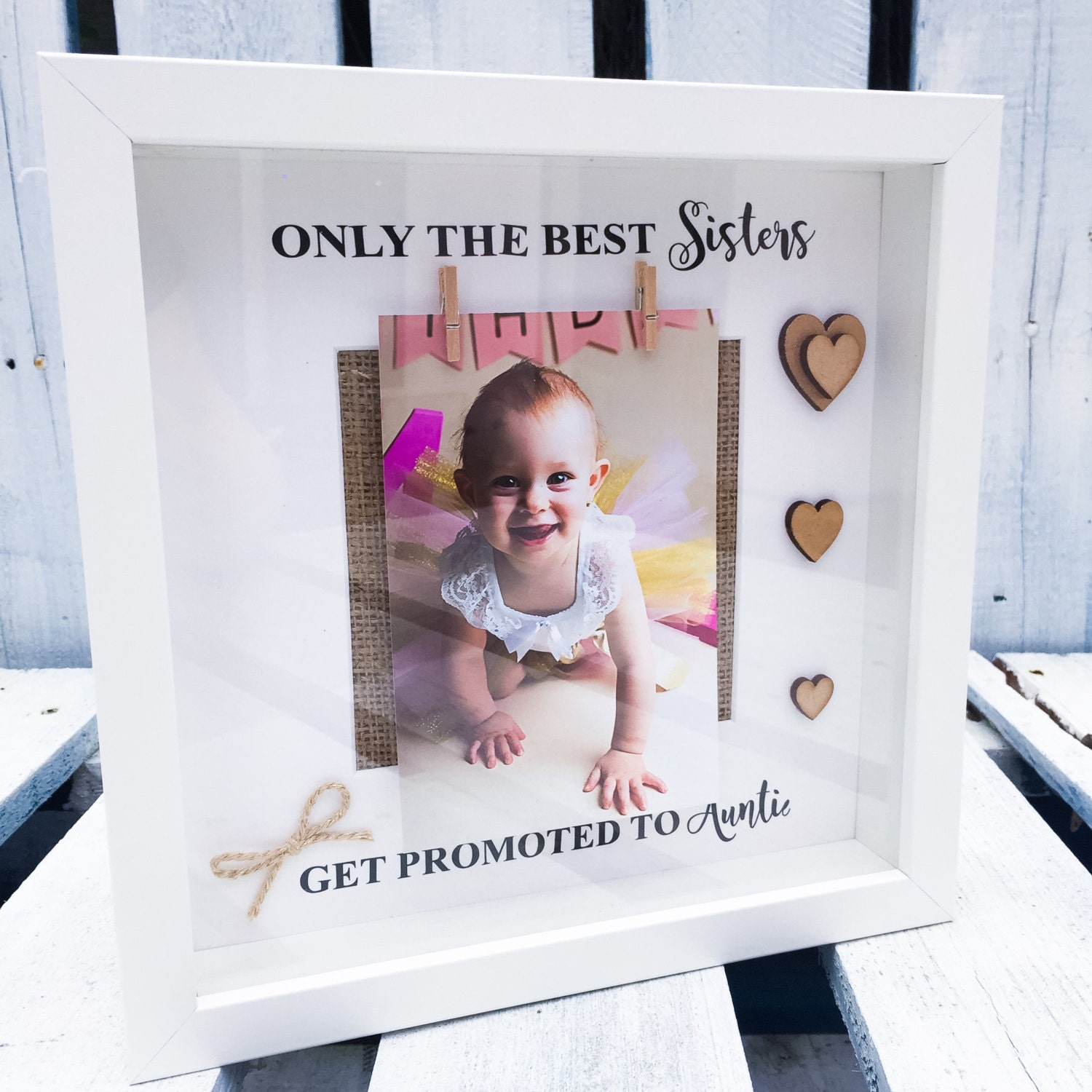 Sister Auntie Frame The Best Sisters Get Promoted To Auntie Etsy