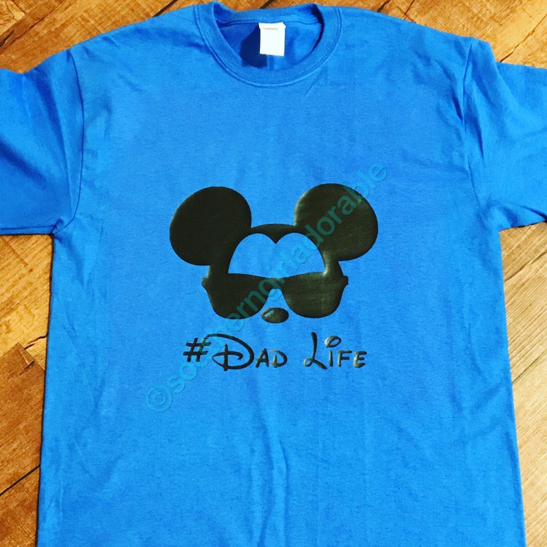 b08ca07b58 DadLife Mickey Mouse Mickey Shirts Disney World Family | Etsy
