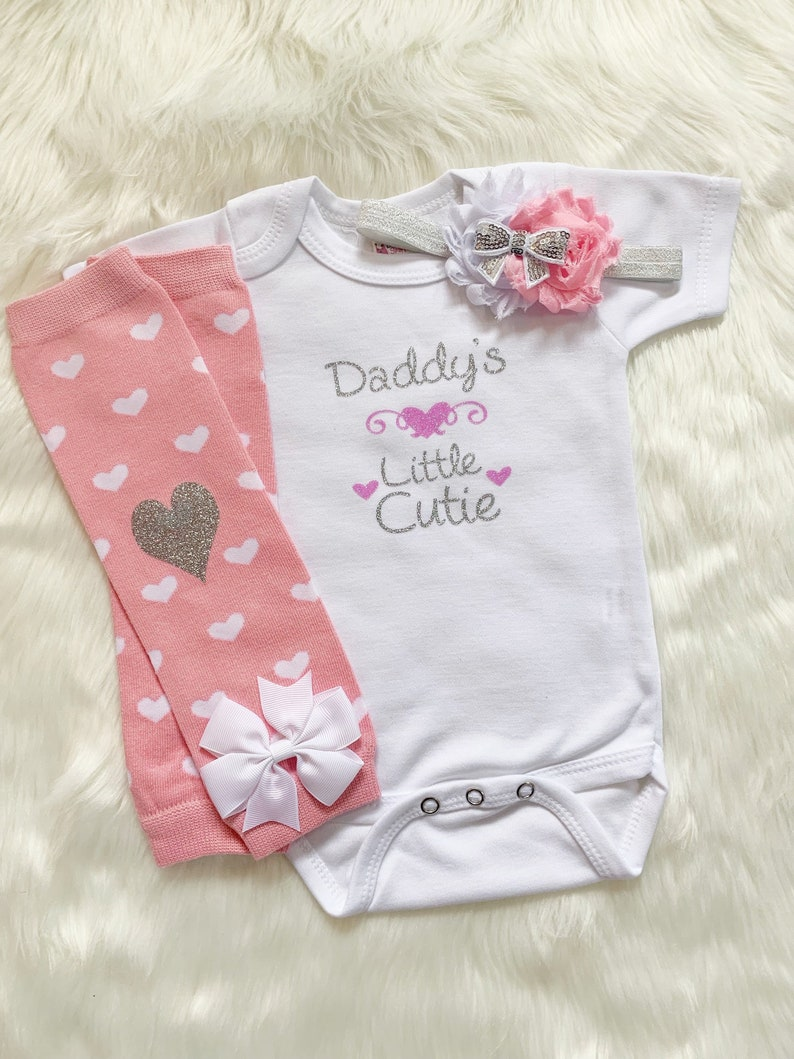 Baby Girl Clothes Baby Girl Outfit Baby Girl Take Home image 0