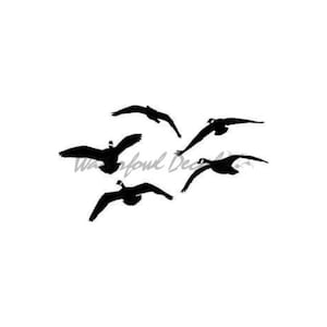 Vermont Geese Flying 10 pack Art Notecards