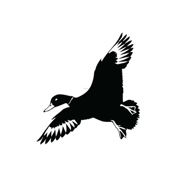 Vinyl Decal Duck 1