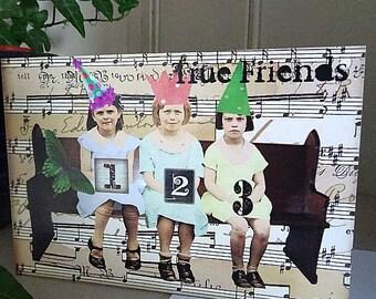 True Friends Greetings Card - Exclusive to Unloved Corners!