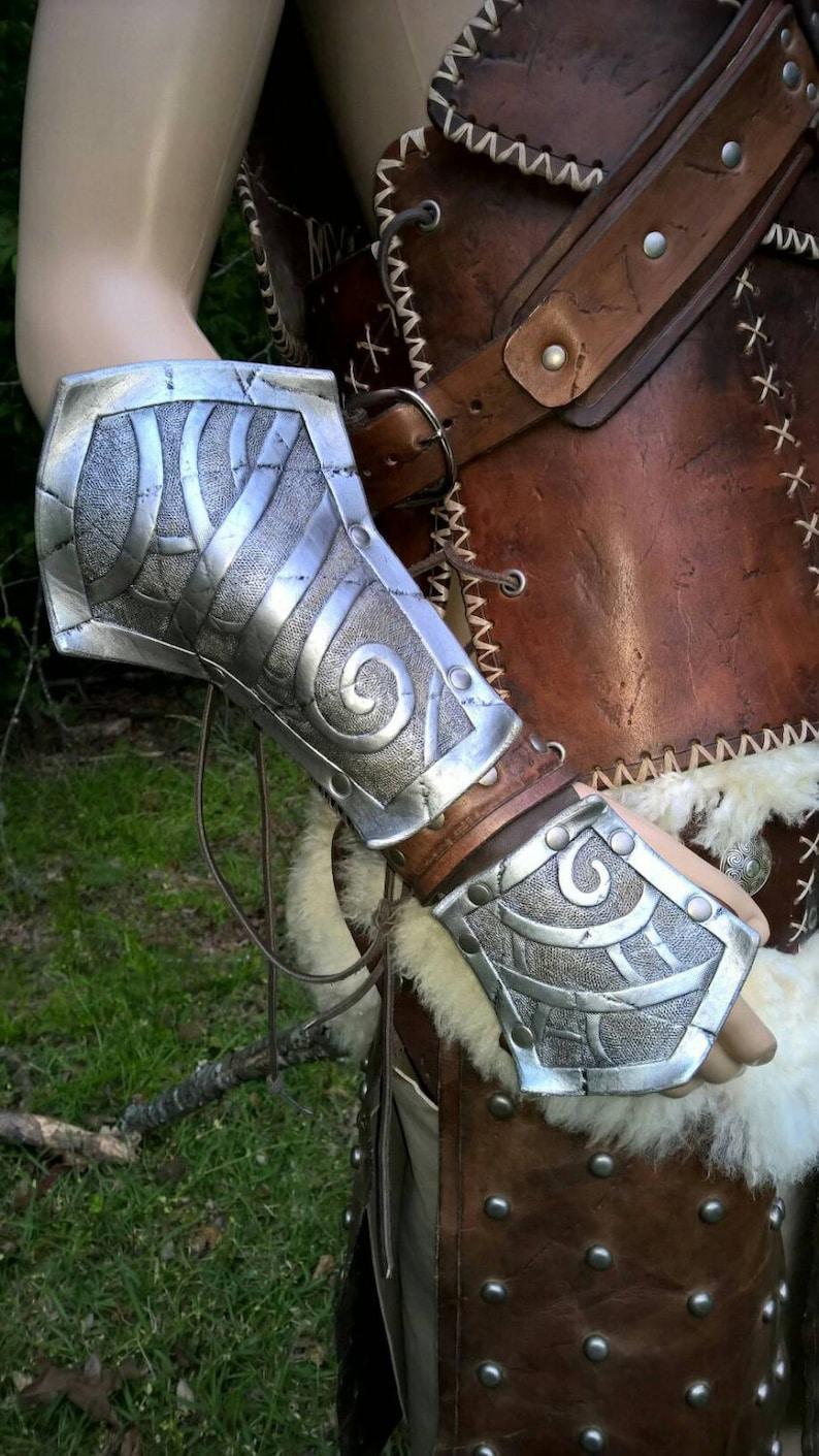 Cosplay Skyrim Dovahkiin Leather Armor