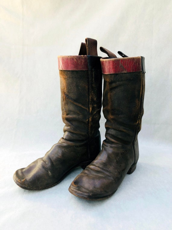 Child's Antique Western Boots
