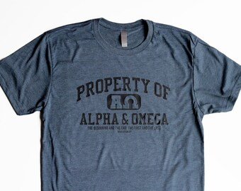 f21a7d4c0e Christian T Shirts for Men, Christian Shirts, Dad Birthday Gifts for Brother  Christian T Shirt Designs, Alpha & Omega, Cool T Shirts for Men