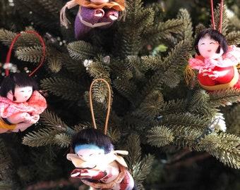 Japanese Doll Ornament
