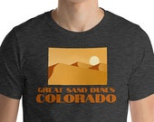 Great Sand Dunes Colorado / Mens T-Shirt / Outdoor / Hiking / Vanlife / Travel