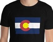 Colorado T-Shirt - State Flag / C / Mens