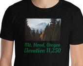 Mt. Hood Oregon T-Shirt / OR / Mountains / Volcano / Portland / Bend / Salem / Eugene / PNW / Pacific Northwest