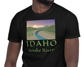 Idaho Snake River T-Shirt / Travel Tee for men / Canyons / Water / Twin Falls / Boise / North / Wanderlust / VanLife