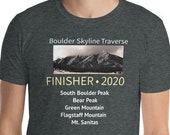Boulder Skyline Traverse Finisher Shirt - Unisex (Mens fit, oversize for women) / Colorado Trail Running