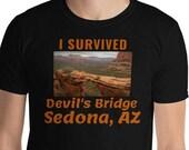 Sedona Arizona T-Shirt / Devil's Bridge / Gift AZ Shirt / Traveler / Wanderer / Hiker
