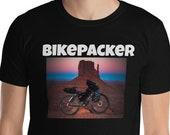 Bikepacker T-Shirt / Bike Touring / Bicycle / Outdoors / Travel / Adventure / Wanderlust