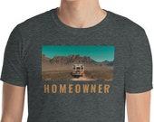 Vanlife T-Shirt / Bus Life / RV Life / Tiny House / Homeowner / Desert / Camping /