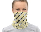 Violin Face Mask / Neck Gaiter / Buff - unisex for men and women / Violinist / Orchestra / Classical Music