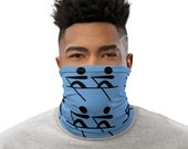 Rowing / Row Boat / Crew - Face Mask / Neck Gaiter / Ski Buff - Scull / Oars / Water Recreation / Lake Time