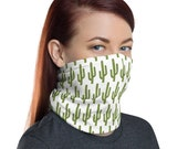 Saguaro Cactus Face Mask / Neck Gaiter / Ski Buff - unisex for men or women / Desert / Arizona / Hiking