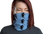Skiing Face Mask / Neck Gaiter / Ski Buff - unisex for men and women / Skier / Colorado / Mountains