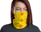 New Mexico Unisex Face Mask / Neck Gaiter / Ski Buff - for men and women