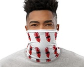Lifeguard Face Mask / Rescue Can / Float - unisex Neck Gaiter for men and women / Pool / Ocean / Beach