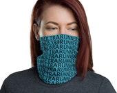 UltraRunner Face Mask / Neck Gaiter / Ski Buff - unisex for men or women / Running / Trail / Marathon Runner