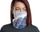 Maroon Bells Neck Gaiter / Face mask / Colorado / Mountains / Stylish / Ski Buff