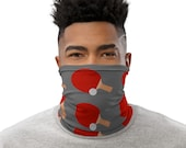 Ping Pong Neck Gaiter Unisex Face Mask