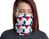 Texas Neck Gaiter / Face Mask - Lone Star State / for men and women / Ski Buff
