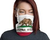 California Republic Unisex Face Mask / Neck Gaiter / Ski Buff / for men and women