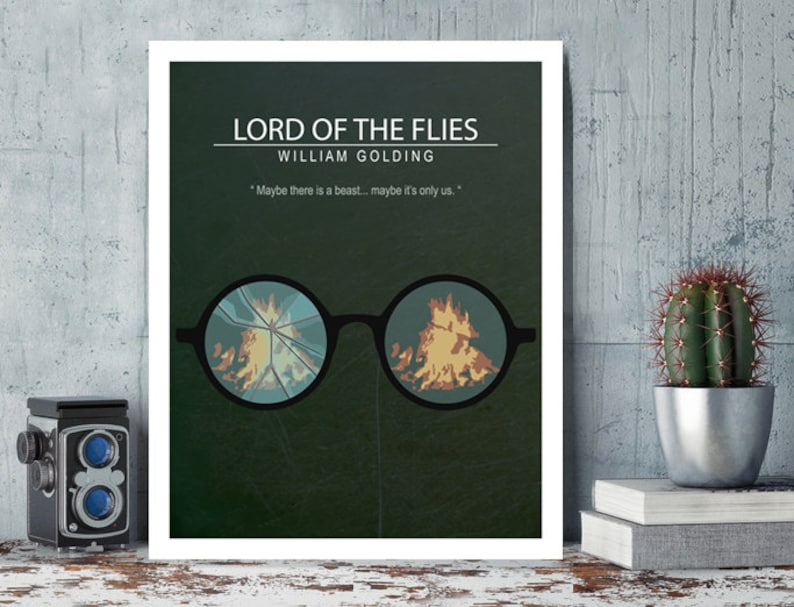Lord of the Flies William Golding Harry Hook Minimal Movie image 0