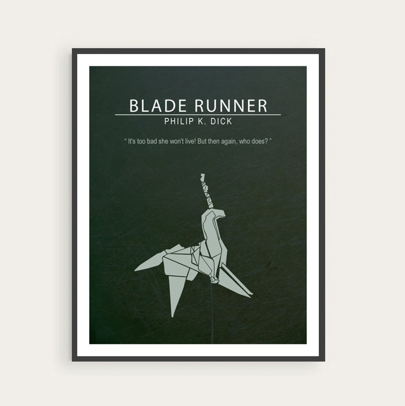 Blade Runner Philip K. Dick Ridley Scott Minimal Movie image 0